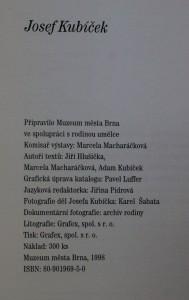 antikvární kniha Josef Kubíček, 1998