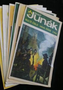 náhled knihy - Junák, časopis skautů a skautek (nulté číslo a 1. - 6.) 1990