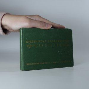 náhled knihy - Statistická ročenka 1957 - lesnictví