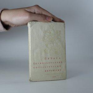 náhled knihy - Ústava Československé socialistické republiky