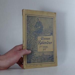 náhled knihy - Claverkalender für das Jahr des Herrn 1926