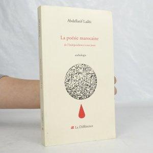 náhled knihy - La poésie marocaine de l'Indépandance a nos jours