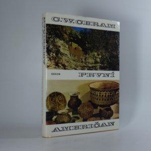 náhled knihy - První Američan