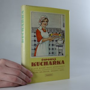 náhled knihy - Úsporná kuchařka. Zlatá kniha malé domácnosti