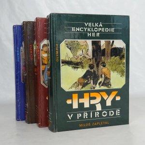 náhled knihy - Velká encyklopedie her. Díly I. - IV. (4 svazky)