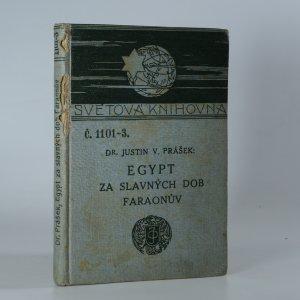 náhled knihy - Egypt za slavných dob faraonův