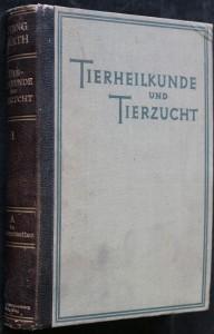 náhled knihy - Tierheilkunde und Tierzucht. Eine Enzyklopädie der praktischen Nutztierkunde. (Erster Band - první svazek)