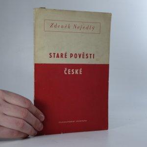 náhled knihy - Staré pověsti české jako historický pramen