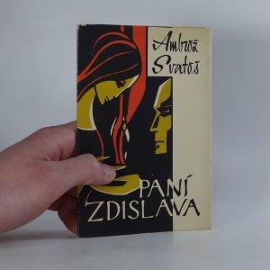 náhled knihy - Paní Zdislava