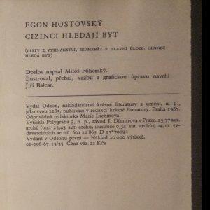 antikvární kniha Cizinci hledají byt, 1967