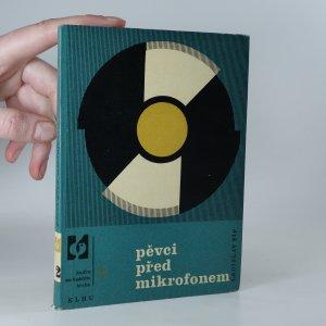 náhled knihy - Pěvci před mikrofonem