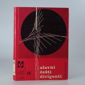 náhled knihy - Slavní čeští dirigenti