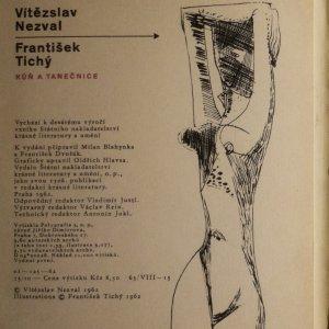 antikvární kniha Kůň a tanečnice, 1962