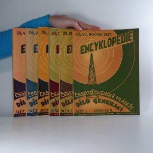 náhled knihy - Encyklopedie československé mládeže. dílo generací. díl VIII. ročník 1938 (10 sešitů v šesti svazcích)
