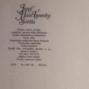antikvární kniha Světla (1. díl), 1982