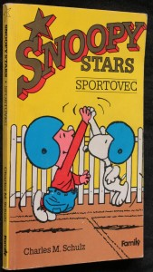 náhled knihy - Snoopy stars. Sportovec