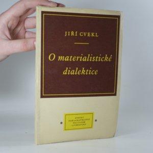 náhled knihy - O materialistické dialektice