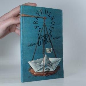 náhled knihy - Spravedlnost Arsèna Lupina