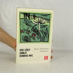 náhled knihy - Kde lišky dávají dobrou noc