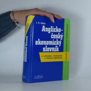 náhled knihy - Anglicko-český ekonomický slovník s výkladem, výslovností a českým rejstříkem