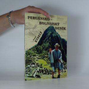 náhled knihy - Peruánsko-bolivijský deník
