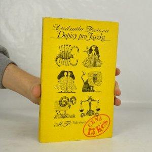 náhled knihy - Dopisy pro Jaszka