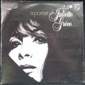 náhled knihy - a portrait of Juliette Gréco