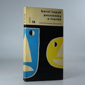 náhled knihy - Poznámky o tvorbě