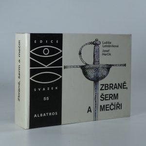 náhled knihy - Zbraně, šerm a mečíři