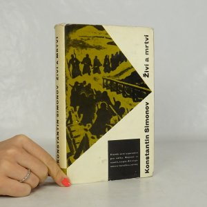 náhled knihy - Živí a mrtví