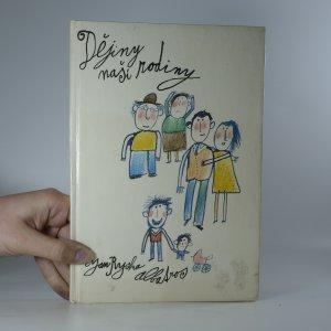 náhled knihy - Dějiny naší rodiny