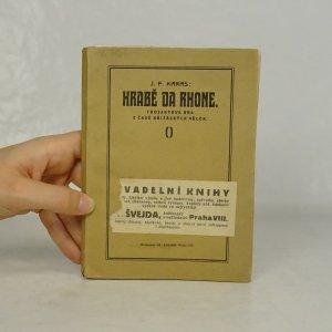 náhled knihy - Hrabě da Rhone