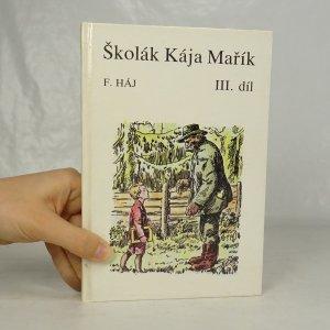 náhled knihy - Školák Kája Mařík. 3. díl.