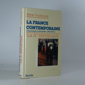 náhled knihy - La France contemporaine: Chronologie commentee (1946-1990)