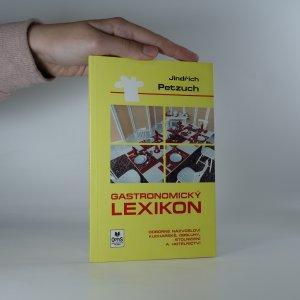 náhled knihy - Gastronomický lexikon