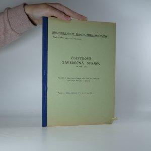 náhled knihy - Čiastková záverečná správa za rok 1975. Mapa minerálnych vod ČSSR 1:1, 500 000 /pre Mapu Európy/ - Správa