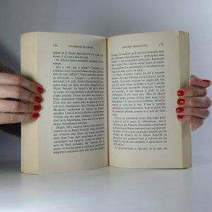 antikvární kniha Les miroirs de Jupiter, 1986
