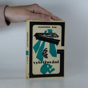 náhled knihy - Vyšetřování