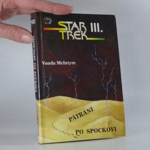 náhled knihy - Pátrání po Spockovi