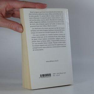 antikvární kniha Balzac : L'argent, la prose, les anges , 2008