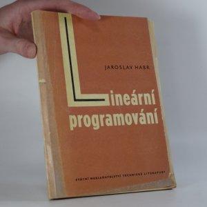 náhled knihy - Lineární programování : výklad pro ekonomy
