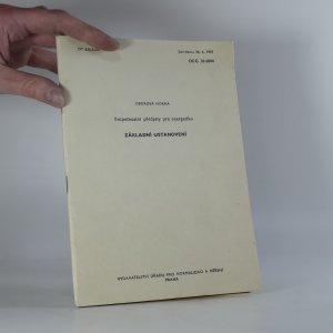 náhled knihy - Bezpečnostní přepisy pro energetiku:  Základní ustanovení