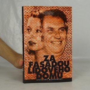 náhled knihy - Za fasádou Lidového domu : česká sociální demokracie 1989-98: lidé a události
