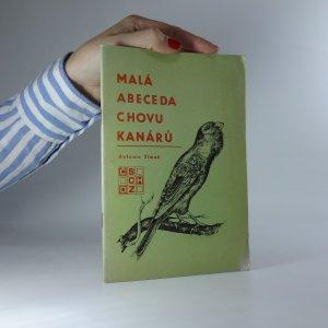 náhled knihy - Malá abeceda chovu kanárů