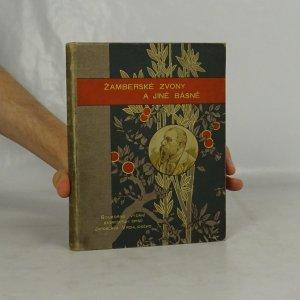 náhled knihy - Žamberské zvony a jiné básně