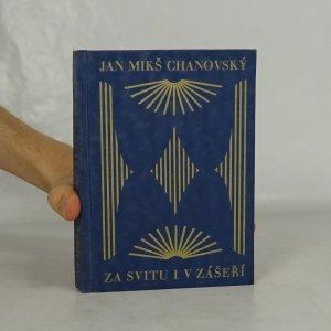 náhled knihy - Za svitu i v zášeří