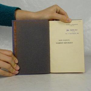 antikvární kniha Náměstí republiky, neuveden