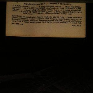 antikvární kniha Písničky do kapsy. 39. díl., 1968
