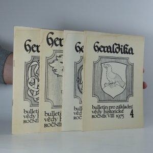 náhled knihy - 4x Heraldika (ročník VIII, číslo 1 - 4)