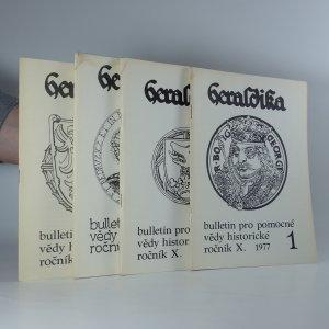 náhled knihy - 4x Heraldika (ročník X, číslo 1 - 4)